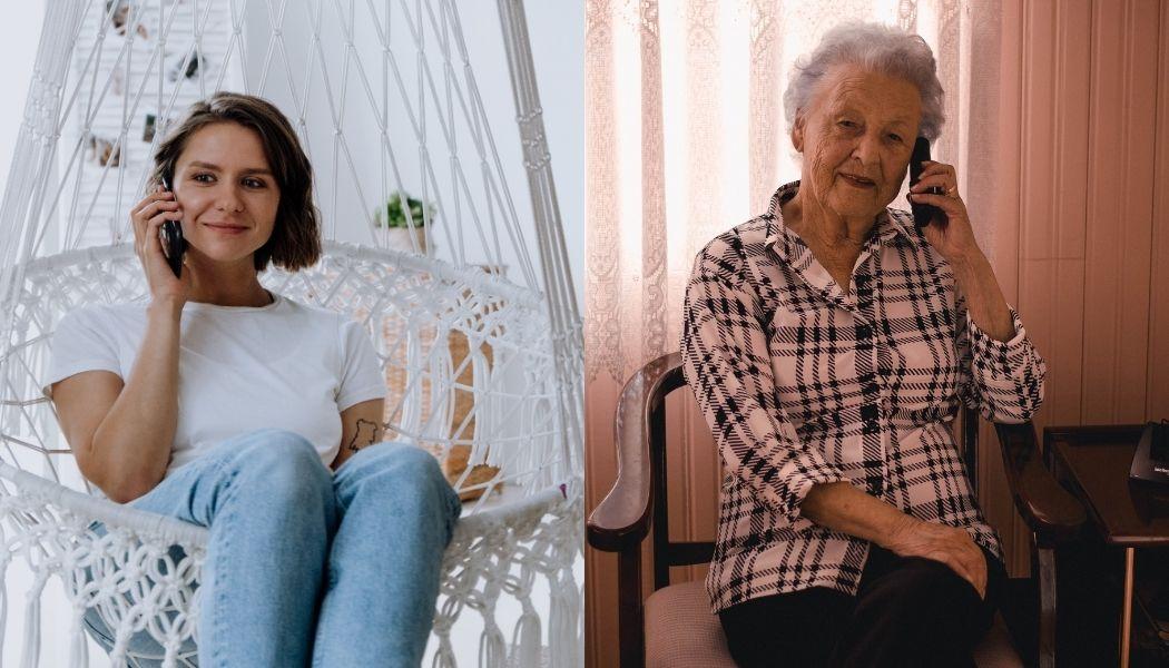 Jovens voluntários combatem a solidão dos idosos através de um telefonema