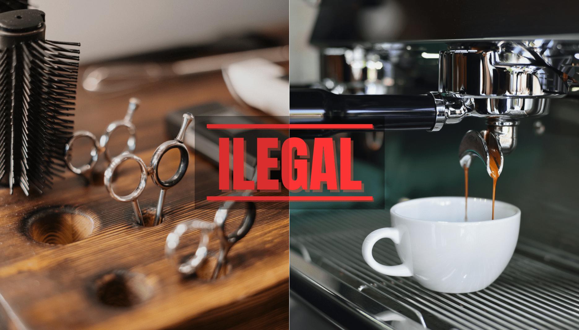 Cafés e Cabeleireiros: regras do segundo confinamento violadas de forma generalizada